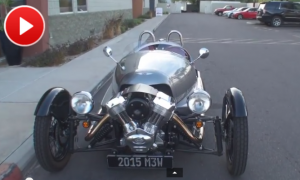 2015 Morgan 3 Wheeler @ Brighton Motorsports on My Car Story with Lou Costabile