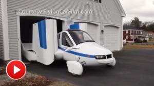 Flying Car - Terrafugia Transition street-legal aircraft