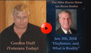 Gordon Duff 8 Jan 2014 Disclosure, and What is Reality