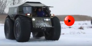 Russians build all terrain mini monster truck for $50K